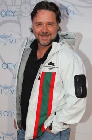 Rabbitohs still my team ... Russell Crowe.