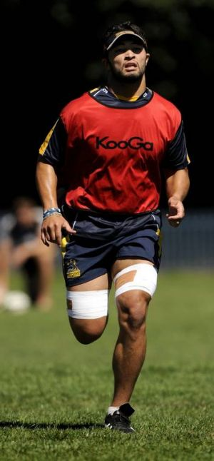 Colby Faingaa is likely to play the rest of the Super Rugby season with a foot injury.