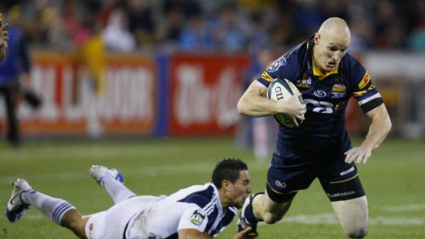 Brumbies great Stirling Mortlock, now a Melbourne Rebel, announced his retirement yesterday.