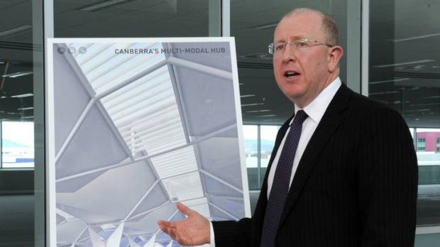 Canberra Airport managing director Stephen Byron.