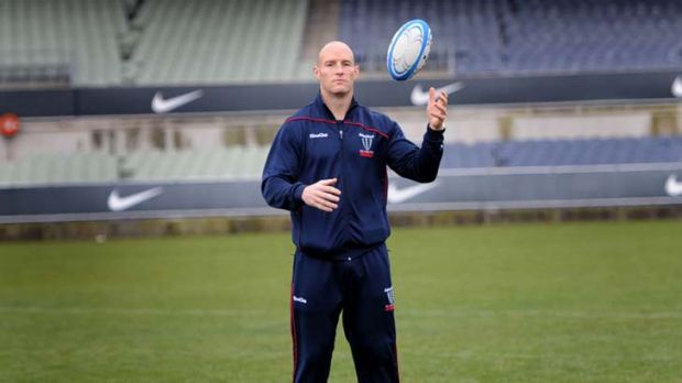 """""""It's been an absolute privilege and honour to play for the Rebels"""" ... Stirling Mortlock."""