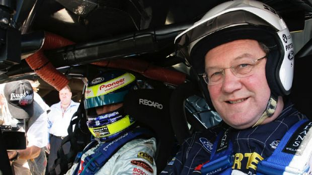 Former minister Alexander Downer is a self-confessed petrol head.