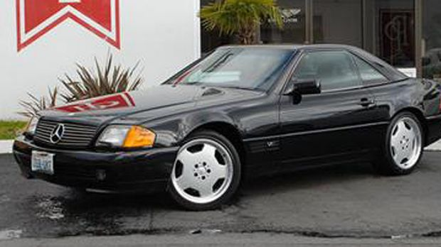 Object of desire ... a Mercedes Benz 1993 600SL Roadster.