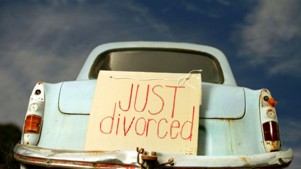 Road to happiness? ... divorce no longer a turn-off for women.