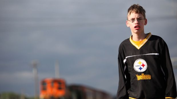 Target ... during the course of filming Bully, Alex Libby, 14, was punched, stabbed and strangled by fellow classmates.