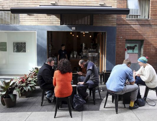 Best Small Cafe - Room 10 Espresso in Potts Point.