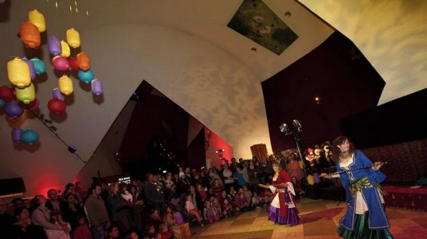 The Silk Road night market and the National Museum of Australia.