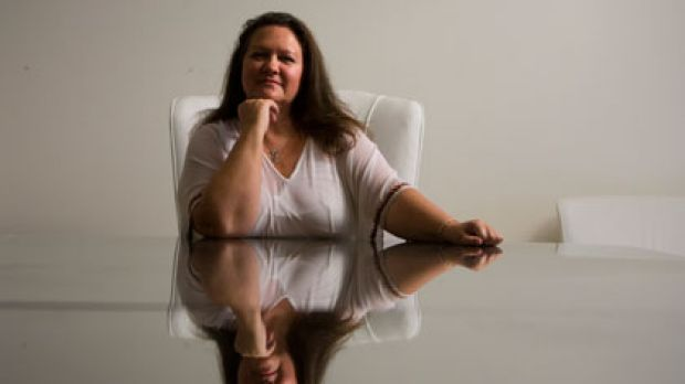 Stronger position... Gina Rinehart now wants three seats at Fairfax's table.