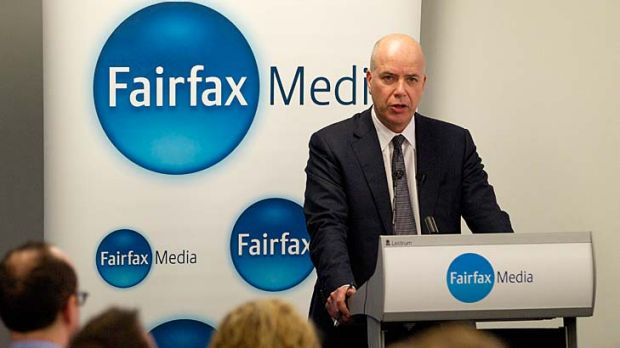 Fairfax CEO Greg Hywood announces 1900 redundancies.
