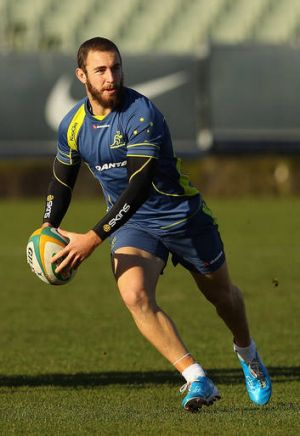 Nic White has been unused on the bench for the past two Wallabies Tests.