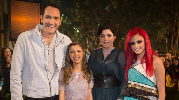 Finalists Darren Percival, Rachael Leahcar, Karise Eden and Sarah de Bono. De Bono was expected to win on the back of ...