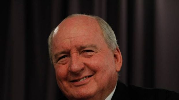 Alan Jones - all smiles after another ratings triumph