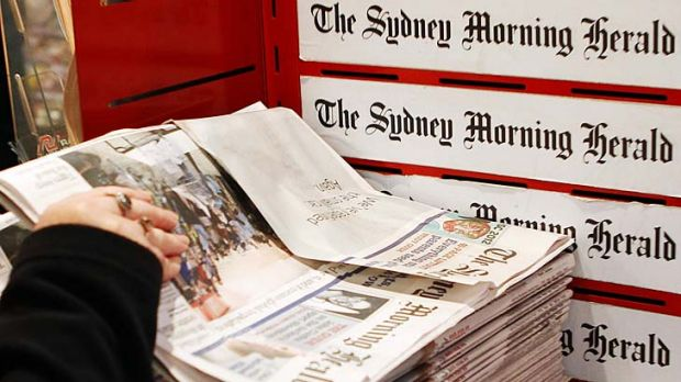 End of an era ... <i>The Sydney Morning Herald</i> broadsheet format is going to be changed.