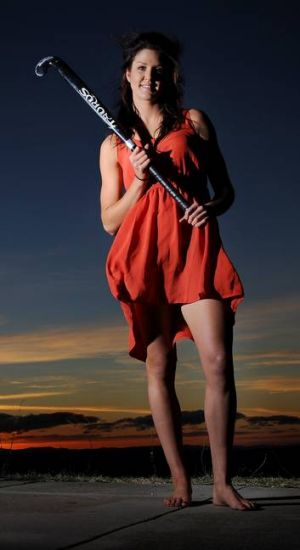 Canberra's Anna Flanagan has been announced in the Australian women's hockey team, and is off to the London Olympics.