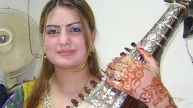 Ghazala Javed was one of many singers who had been persecuted by the Taliban.