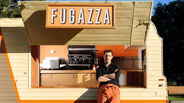 "Food trucks offer ""a chance to put yourself out there a lot more and try different things,"" says owner of Fugazza, Simon ..."