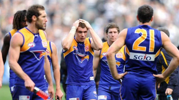 Grounded: The Eagles have a poor record at the MCG.