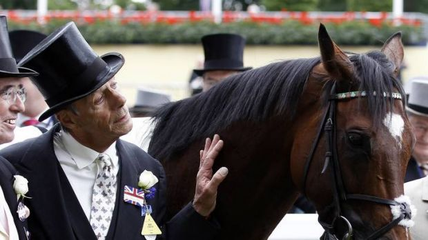 Class act: Trainer Henry Cecil with Frankel after the Queen Anne Stakes at Royal Ascot.