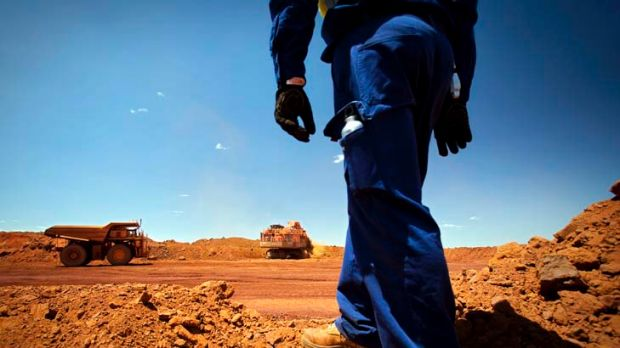 Australia accounted for 44 per cent of Chinese iron-ore imports in the first four months of 2012.