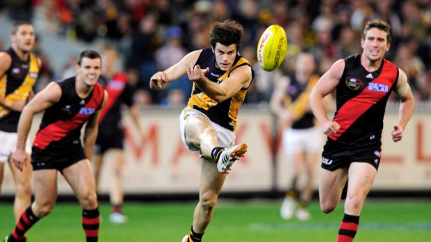 Wing wizard... Trent Cotchin has been a standout performer for the Tigers.