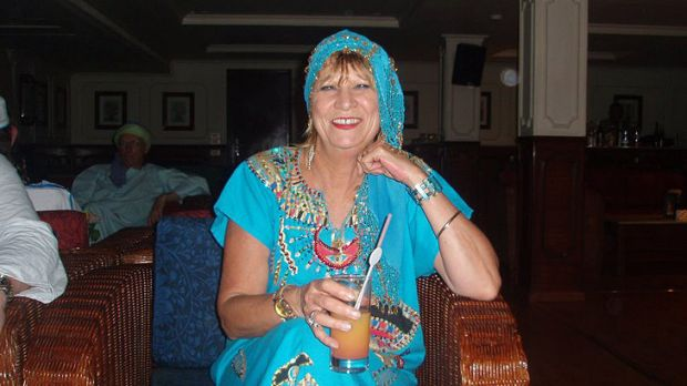 Stabbed through the heart .... Michelle Smith was on a travel agents' tour of Phuket.