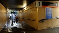 Rail flooding leaves commuters stranded (Video Thumbnail)