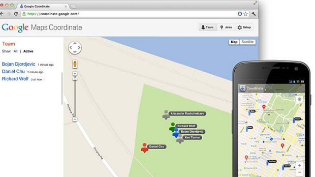 how to get coordinates from business google maps