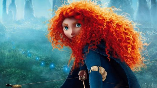 WARRIOR PRINCESS: Merida is voiced by Kelly Macdonald in the new Pixar animated film Brave, which opens today.