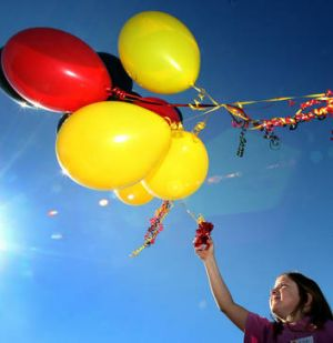 The problem with putting a balloon up too early, is that you become a sitting duck for the enemy.