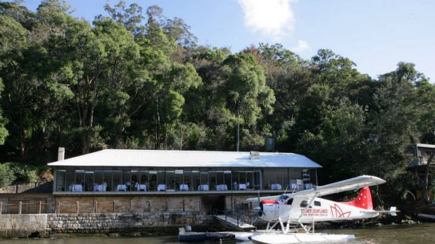 Doors closing ... Pier at Rose Bay and Berowra Waters Inn.