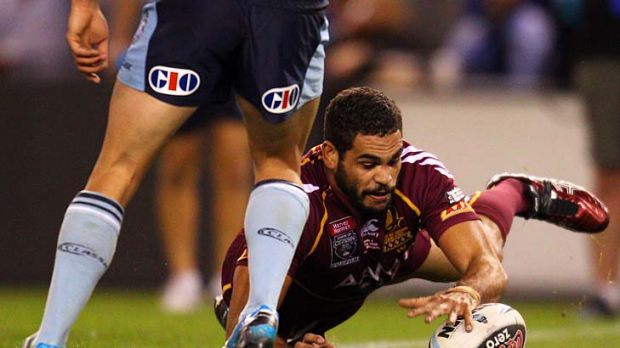 Greg Inglis looks dangerous as the Rabbitohs' fullback but remains largely an  unknown force as a genuine No1 at Origin ...