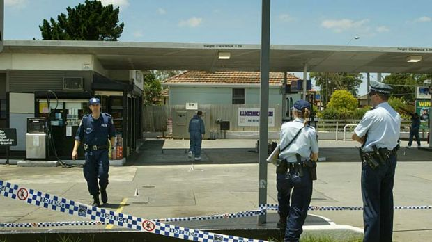 The Mobile petrol station in Peakhurst where Gao Jin was fatally stabbed in 2003.