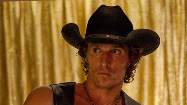 Matthew McConaughey stars as the club owner.