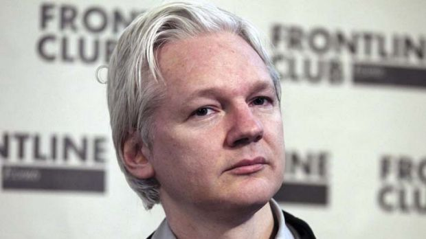 In limbo ... WikiLeaks founder Julian Assange