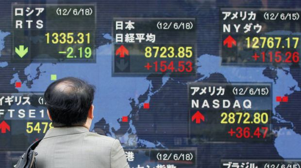 Asian stocks gain but local market may fall further.