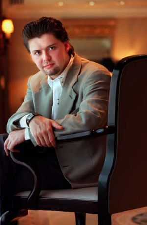 Played with lush colour and expressive rhythmic freedom ... violinist Julian Rachlin.