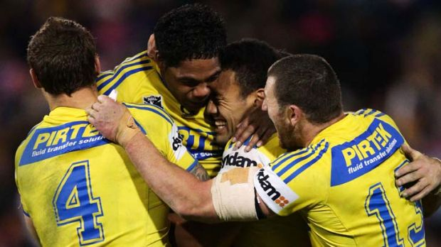 """""""The Eels won because they were determined to keep the ball alive""""."""