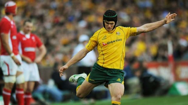 On the up ... Berrick Barnes has regained his playing mojo.