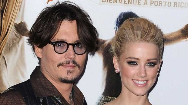 """A special man"" ... Amber Heard gushes about reported new boyfriend Johnny Depp."