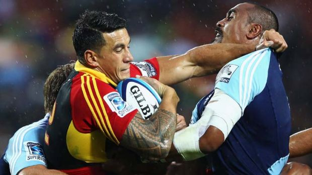 Centre of speculation ... Sonny Bill Williams.