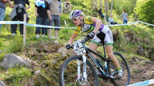 Canberra's Rebecca Henderson has made Australia's mountain-biking team for the Olympic Games in London.