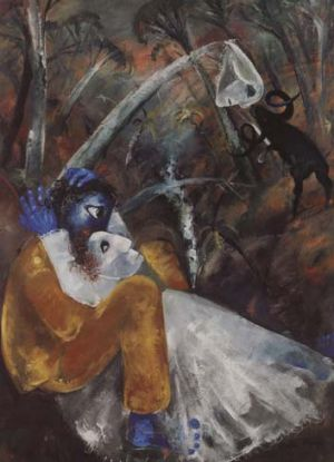 Brush with the bush … Lovers by a Creek by Arthur Boyd.