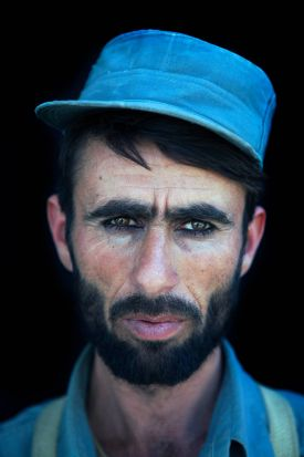 World Press - 2nd prize Portraits Stories. A new recruit at a police training center run by Germany, in Kunduz, ...