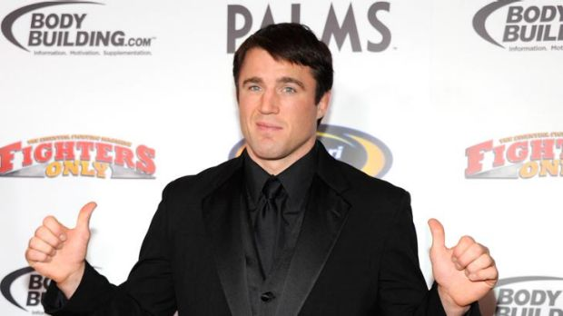 Chael Sonnen, pictured at the Fighters Only World Mixed Martial Arts Awards last year, will challenge Anderson Silva for ...