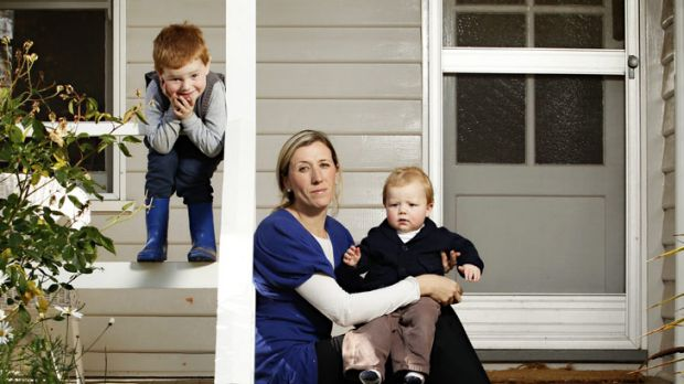 Emily Lloyd, with her children Lachlan, 3, (left) and Henry, 1, found that being accepted as a patient by a medical ...