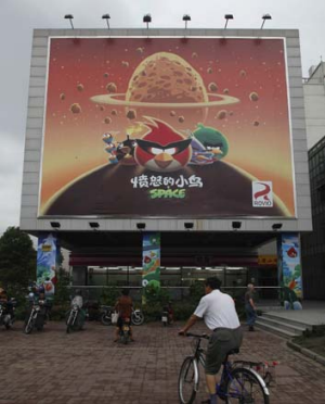 Rovio is becoming much more aggressive in China.