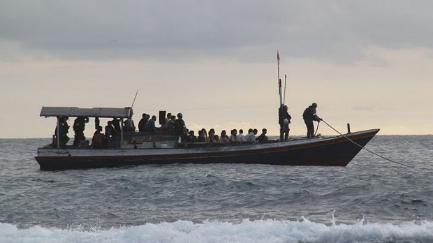 Refugee boat. Peter Catt suggests there is another way to approach the problem.