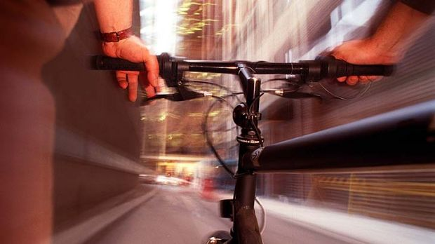 Flashback... There are fewer cyclists per capita than in the 1980s, according to a new study.