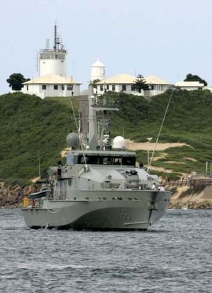 HMAS Maitland has joined the rescue effort for a second asylum seeker boat that sank near Christmas Island yesterday.
