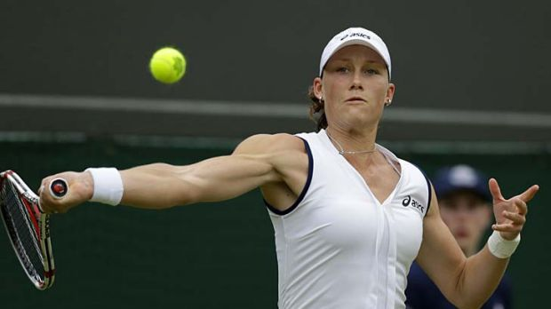 Deja vu ... Sam Stosur has only reached the third round at Wimbledon once in 10 years.